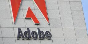 Foto: Die Firmenzentrale von Adobe Systems in San Jose, Kalifornien, USA.