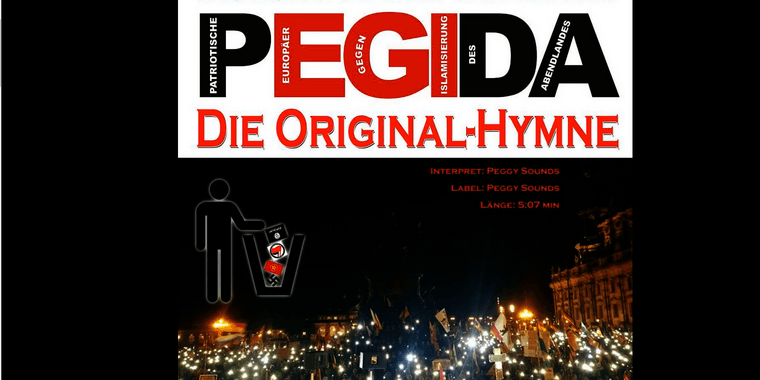 Foto: Screenshot vom Youtube-Video der Pegida-Hymne