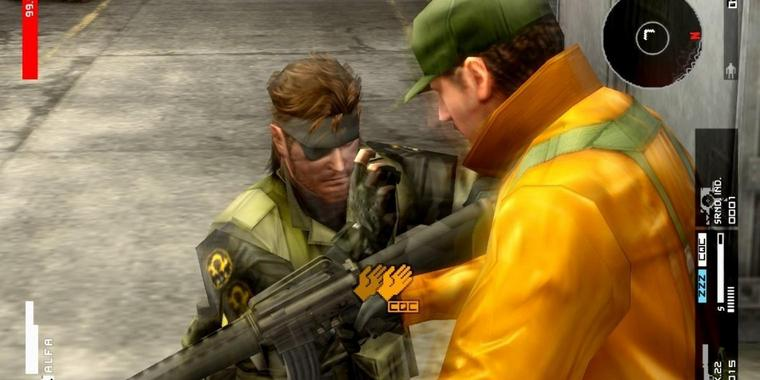 "Screenshot aus ""Metal Gear Solid - HD Collection"""