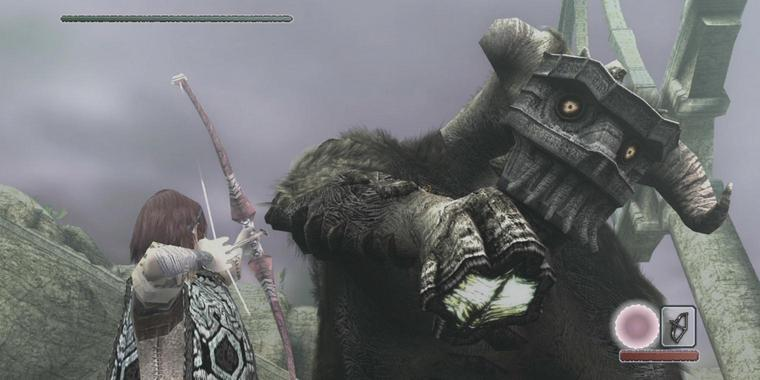 "Screenshot aus ""Shadow of the Colossus"""