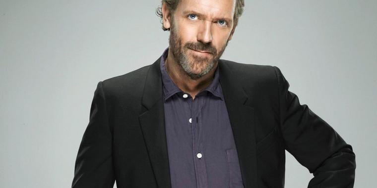Nimmt Abschied: Dr. House (Hugh Laurie).