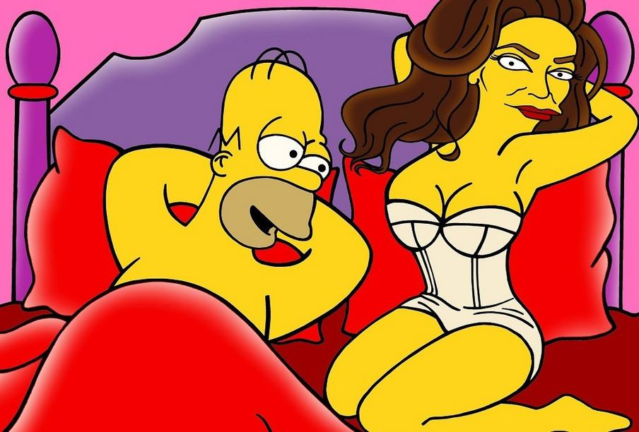Caitlyn Bruce Jenner Simpsonized Call me Wonder Caitlyn The Simpsons Vanity Fair Cover Homer Simpson Bart Transgender Rights Trans LGBT  Contemporary Art Cartoon Satire artist aleXsandro Palombo We - Kopie