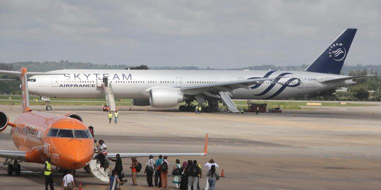 Moi International Airport in Mombasa