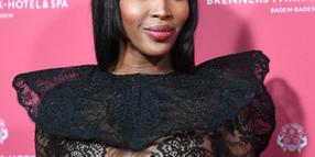 Foto: Naomi Campbell bei der Verleihung der Gala Spa Awards in Baden-Baden Anfang April