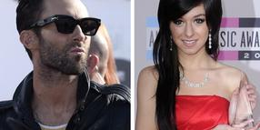 "Foto: ""Maroon 5""-Sänger Adam Levine förderte Christina Grimmie in der TV-Show ""The Voice"""