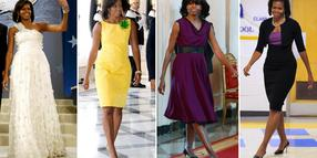 Michelle Obama gilt als Stil-Ikone.