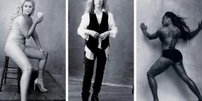Foto: Pirelli Kalender 2016: Stand-up-Comedian Amy Schumer, Rocksängerin Patti Smith, Tennisspielerin Serena Williams (v.l.n.r.)