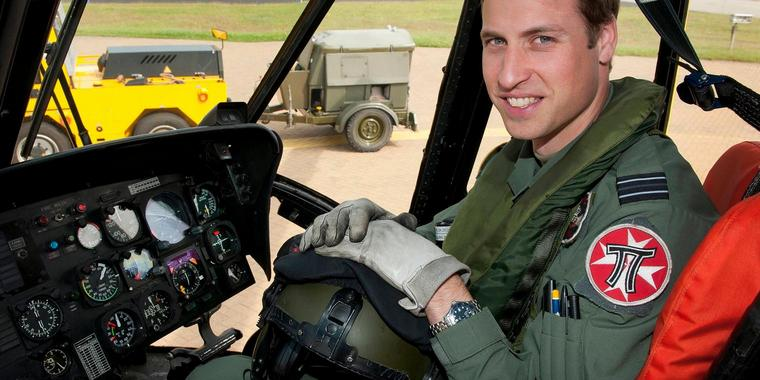 Prinz William quittiert seinen Dienst in der Royal Air Force