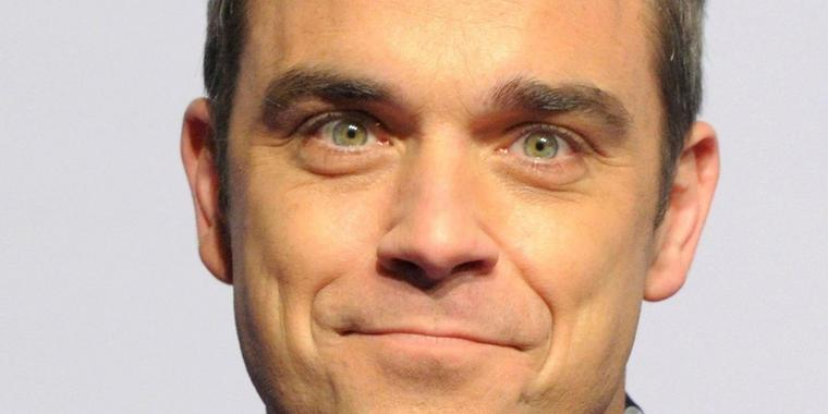 Foto: Robbie Williams von Take That