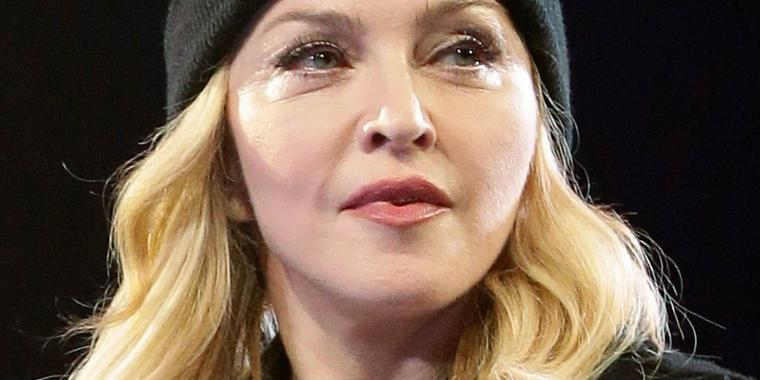 "Foto: Hacker stahl Songs vom Madonnas ""Rebel Heart"" Album."