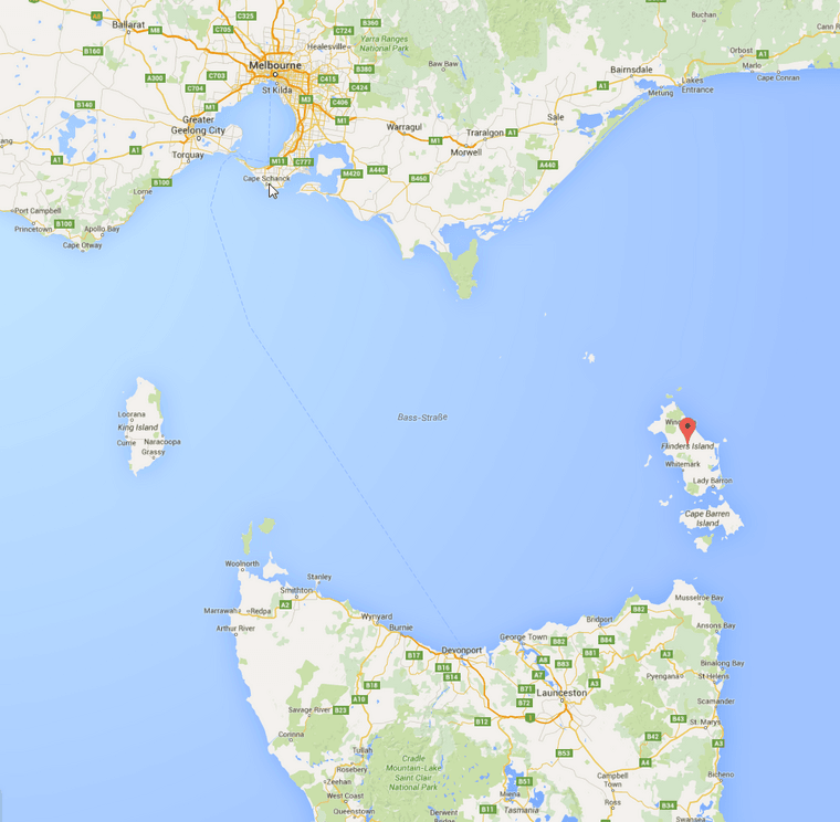 Flinders Island - Google Maps