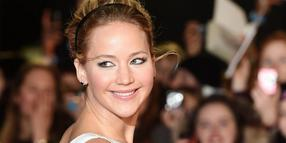 Foto: Jennifer Lawrence bei der Weltpremiere von The Hunger Games: Mockingjay - Part One in London.