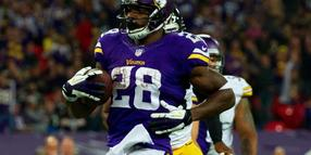 Foto: Der US-Football-Star Adrian Peterson.