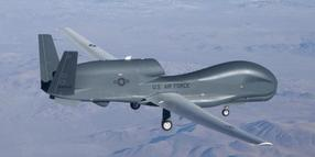 Global Hawk Drohne.