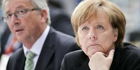 Jean-Claude Juncker its ihr Favorit: Bundeskanzlerin Angela Merkel.