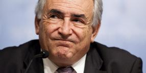 IWF-Chef Dominique Strauss-Kahn.