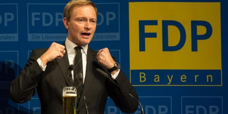 Neue Farbe bekennen: FDP-Chef Christian Lindner.