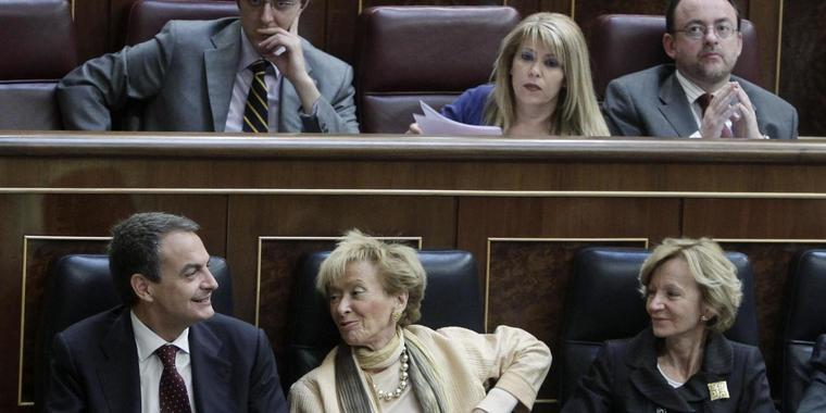 Diskussion in Spaniens Parlament.