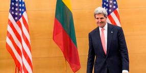 Foto: US-Außenminister John Kerry am 7. September in Vilnius.
