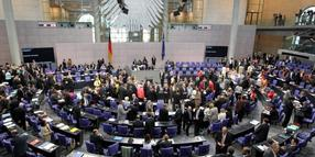 Foto: Bundestag in Berlin.