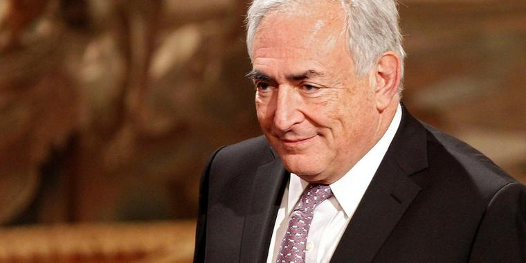 Foto: Dominiquie Strauss-Kahn.