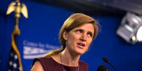 Foto: UN-Botschafterin Samantha Power am 6. September in Washington.