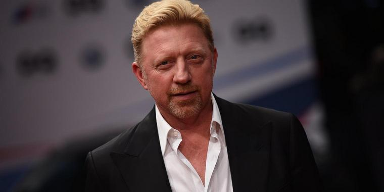 Foto: Tennislegende Boris Becker.