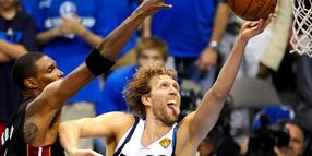 Foto: Dirk Nowitzki von den Dallas Mavericks.