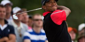 Foto: US-Golfer Tiger Woods bei der siebten British Open Golf Championship in Muirfield.