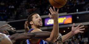 Der 22-jährige Michael Carter-Williams (r.) ist bester NBA-Neuling.