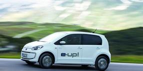 Foto: Der Volkwagen e-Up.