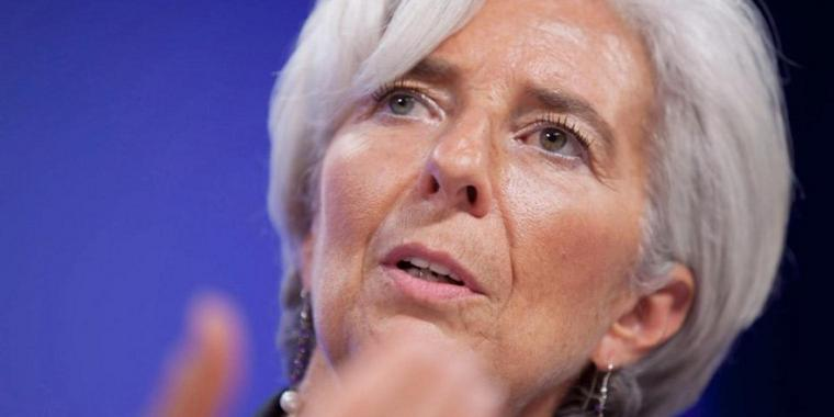Foto: Die Chefin des Internationalen Währungsfonds, Christine Lagarde.