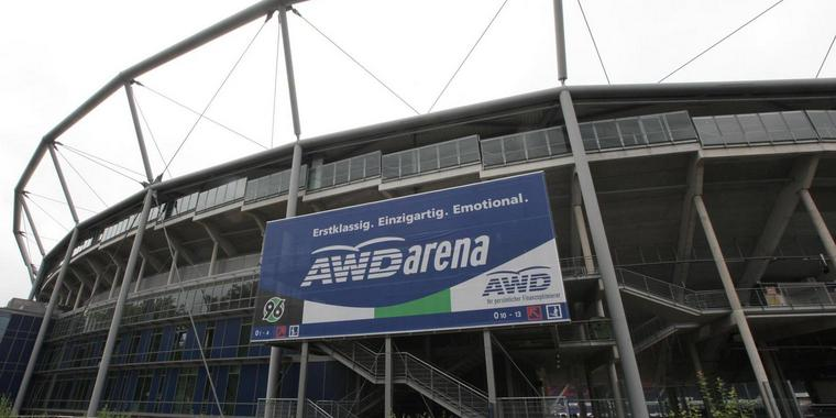 AWD-Arena in Hannover.