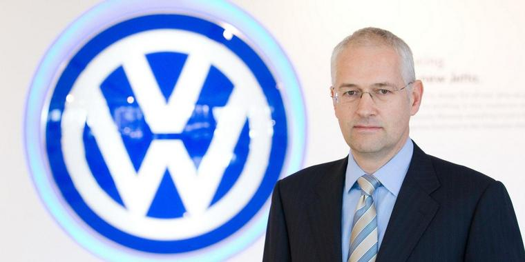 Jonathan Browning ist Präsident der Volkswagen Group of America.