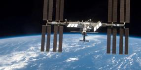 Foto: Die internationalen Raumstation ISS.