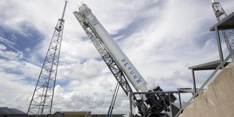 Foto: SpaceX Falcon 9 Rakete