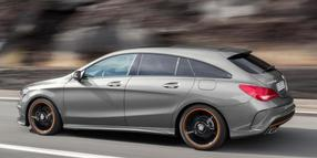 Mix aus Lademeister und Lifestyle-Auto: der kompakte Mercedes CLA Shooting Brake.