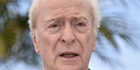 Sir Michael Caine in Cannes.