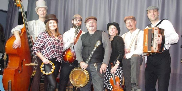 "Foto: Die Irish Folk Band ""Tears for beers"" kommt am 16. März in die Räucherei."