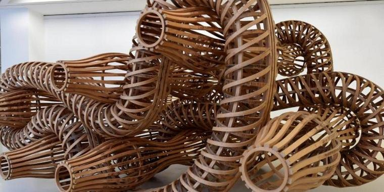 Richard Deacon, What could make me feel that way (A), 1993.