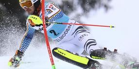 Felix Neureuther verpasste in Adelboden hauchdünn das Podium.