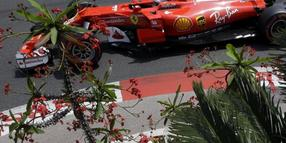 Sebastian Vettel will sich in Monaco die Pole Position holen.