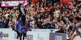 Foto: Oh yes, she's done it again! The incredible German athlete Isabell Werth claimed her third consecutive and fifth overall FEI Dressage World Cup™ title at the Scandinavium Arena in Gothenburg, Sweden tonight.