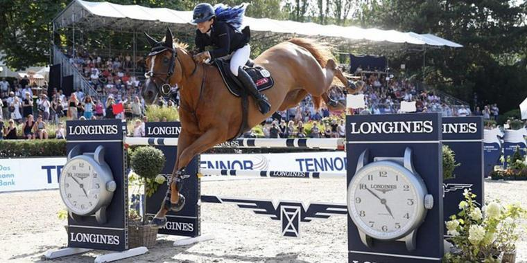 Foto: Dani G. Waldman (ISR) gewinnt mit Lizziemary Longines Global Champions Tour Grand Prix of Berlin presented by Tennor.