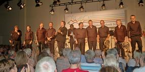 German Brass beim SHMF in Wotersen umjubelt.