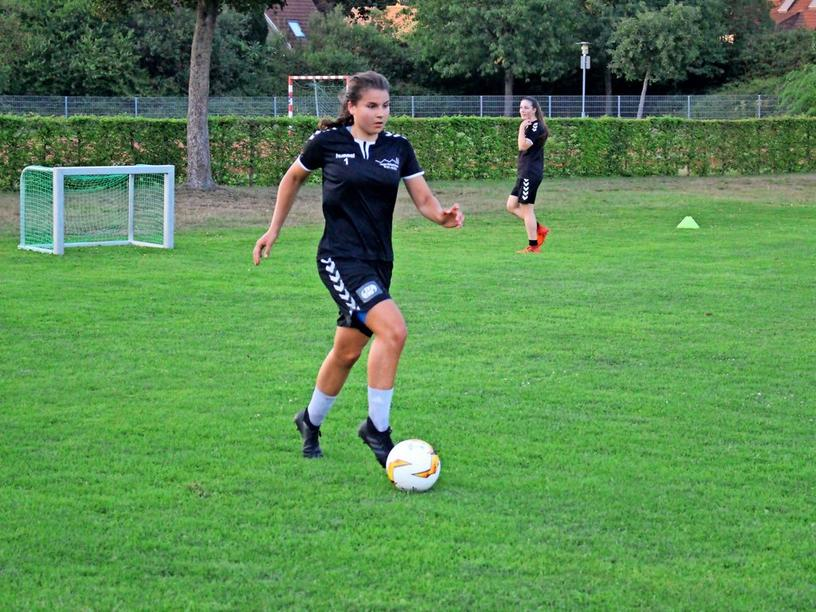 Madita beim Training in Henstedt-Ulzburg