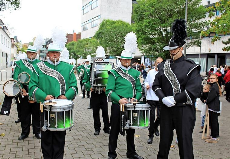 """Die Marching-Band """"Stormarn Magic"""""""