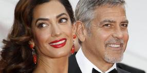 George und Amal Clooney 2016 in Cannes.
