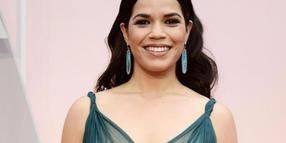 America Ferrera 2015 bei den Academy Awards in Los Angeles.
