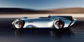 Der elektrische Mercedes EQ Silver Arrow mit 550 kW/750 PS.